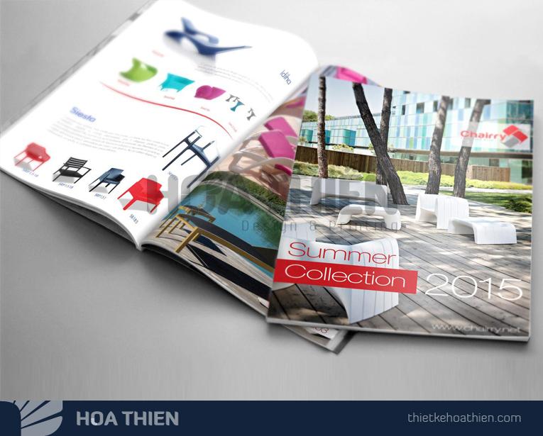 mẫu thiết kế catalogue ná»i thất