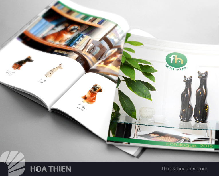 in catalogue nhanh