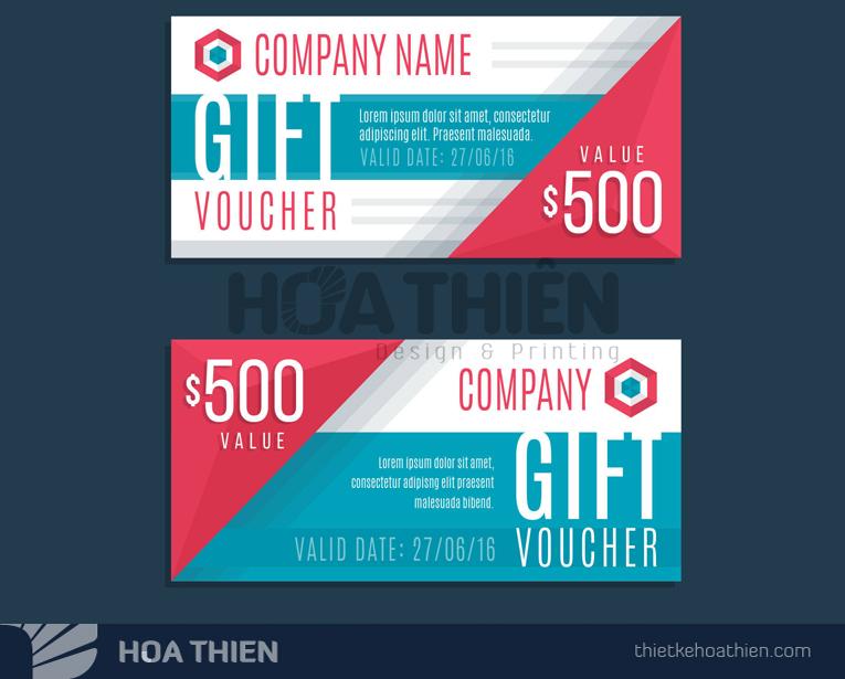 mẫu thiết kế voucher 2019