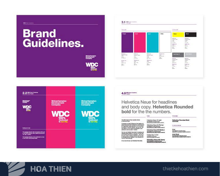 Thiet ke in an Brand guide