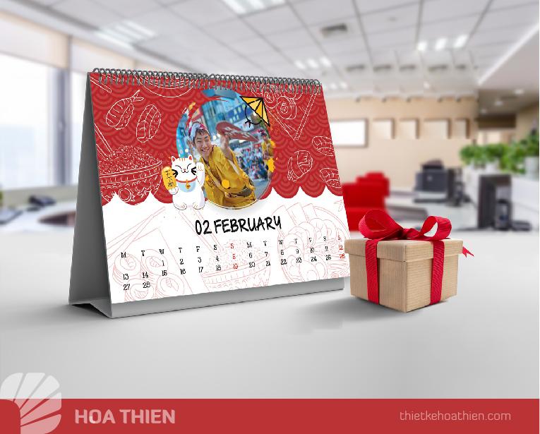 thiet ke lich tet 2020 Hoa Thien